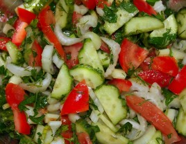 Armenian Salad (Vegan Approved)