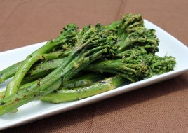 Grilled Baby Broccoli