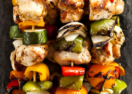 Chicken Kabob Skewer