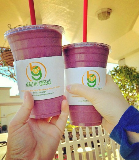 Healthy Greens Signature Super-Food Shakes