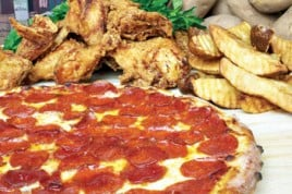 Pizza and Broasted Chicken Package for 25-30