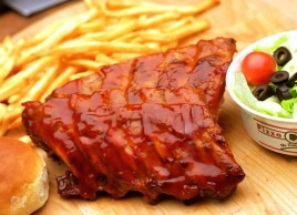 BBQ Style Ribs (Baby back) Dinner