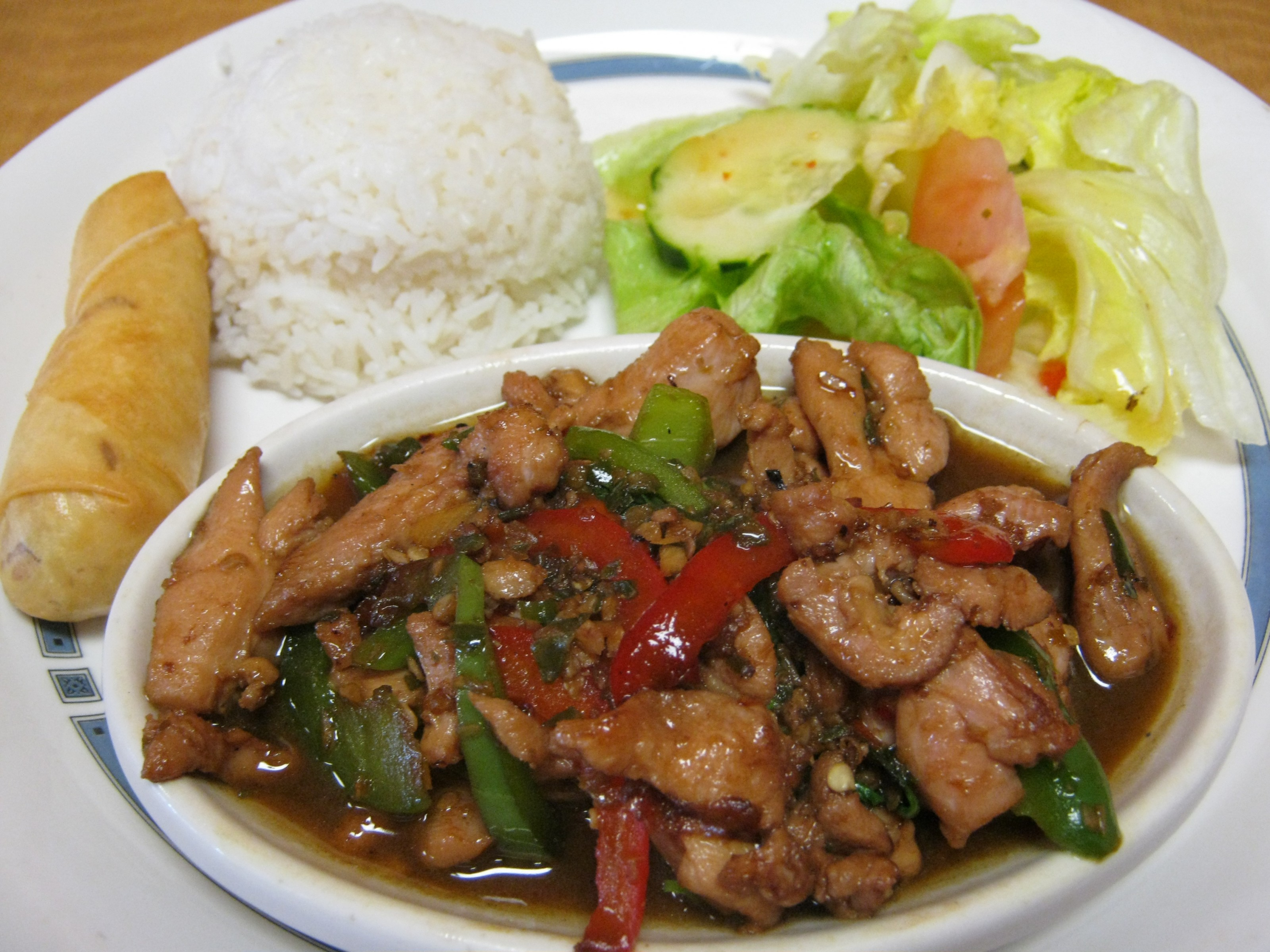 Pad-Kra-Pao Chicken
