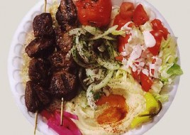 Beef Kabab Plate