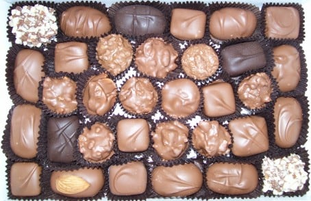 Daisy's OId Time Confections Box Chocolates