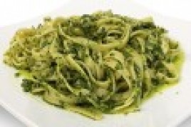 Fettuccine Chicken Pesto