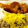 Lamb Shank with Baghali Polo