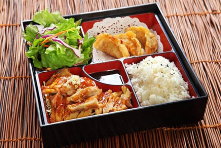 Yoshi's Japanese and Korean Cuisine Dinner Bento Box