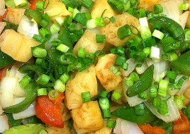Sweet and Sour Tofu with Vegetable