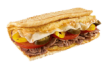 Steak, Egg and Cheese Sandwich