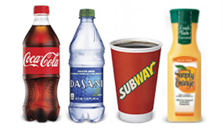 Subway Marketplace Drinks