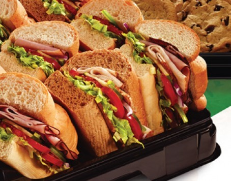 Subway Marketplace Catering Menu