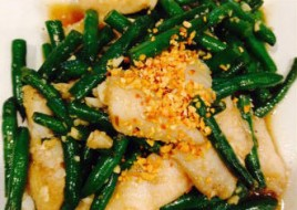 Fish with Green Bean