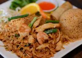 Pad Thai Noodles Dinner
