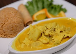Yellow Curry Chicken Dinner