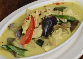 Green Curry with Bamboo Shoots