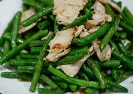 Green Beans with Garlic Sauce Combo Today