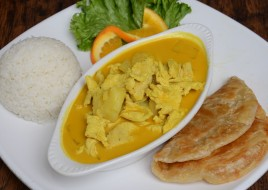 Our Famous Yellow Curry Chicken Combo Today