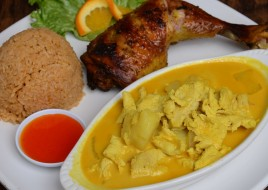Chicken Yellow Curry Combination Special