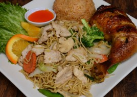 Chicken Chowmein Combination Special