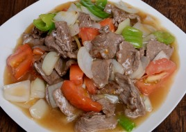 Beef with Bell Pepper