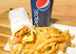 Chicken Shawerma Pita Wrap