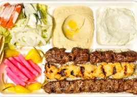 Mixed Kabob Plate