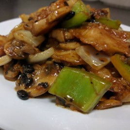 Fish w/ Black Bean Sauce