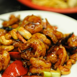 Kung Pao Shrimp (w/ cashews)