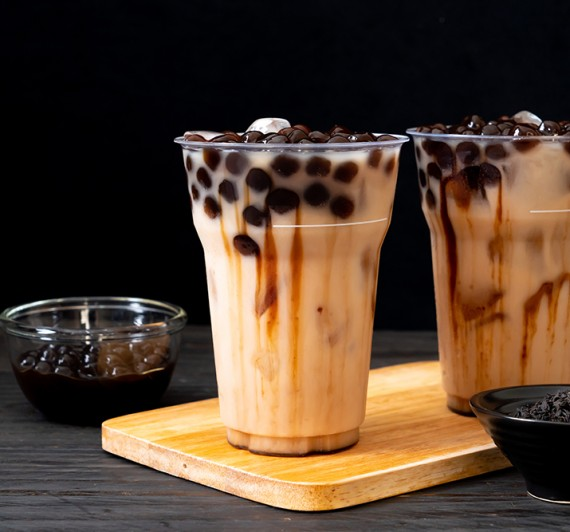 Try one of our refreshing boba teas!