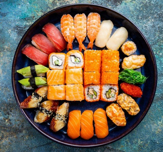 Sushi & Rolls Party Trays