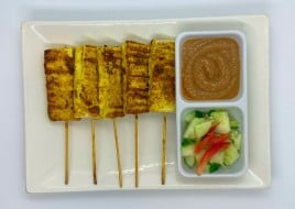 Sate fried tofu