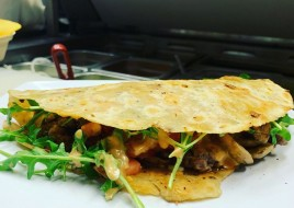Vegan & Gluten Free Impossible Quesadilla