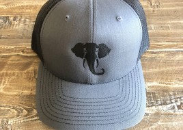 Trucker Hat/ Grey and Black
