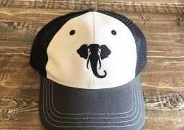 Trucker Hat/ Cream and Grey