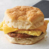 Sausage Egg & Cheese BISCUIT