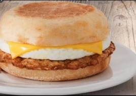 EGG WHITE Turkey ENGLISH MUFFIN