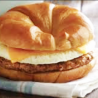 Turkey Sausage, EGG WHITE & Cheese LiL' Croissant