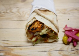 Chicken Kebab sandwich
