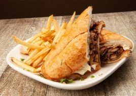 Roasted Beef Hot Sandwich