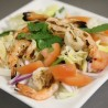 27. Pla Koong (spicy shrimp salad)