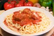 Spaghetti, Rigatoni or Penne with Meatballs