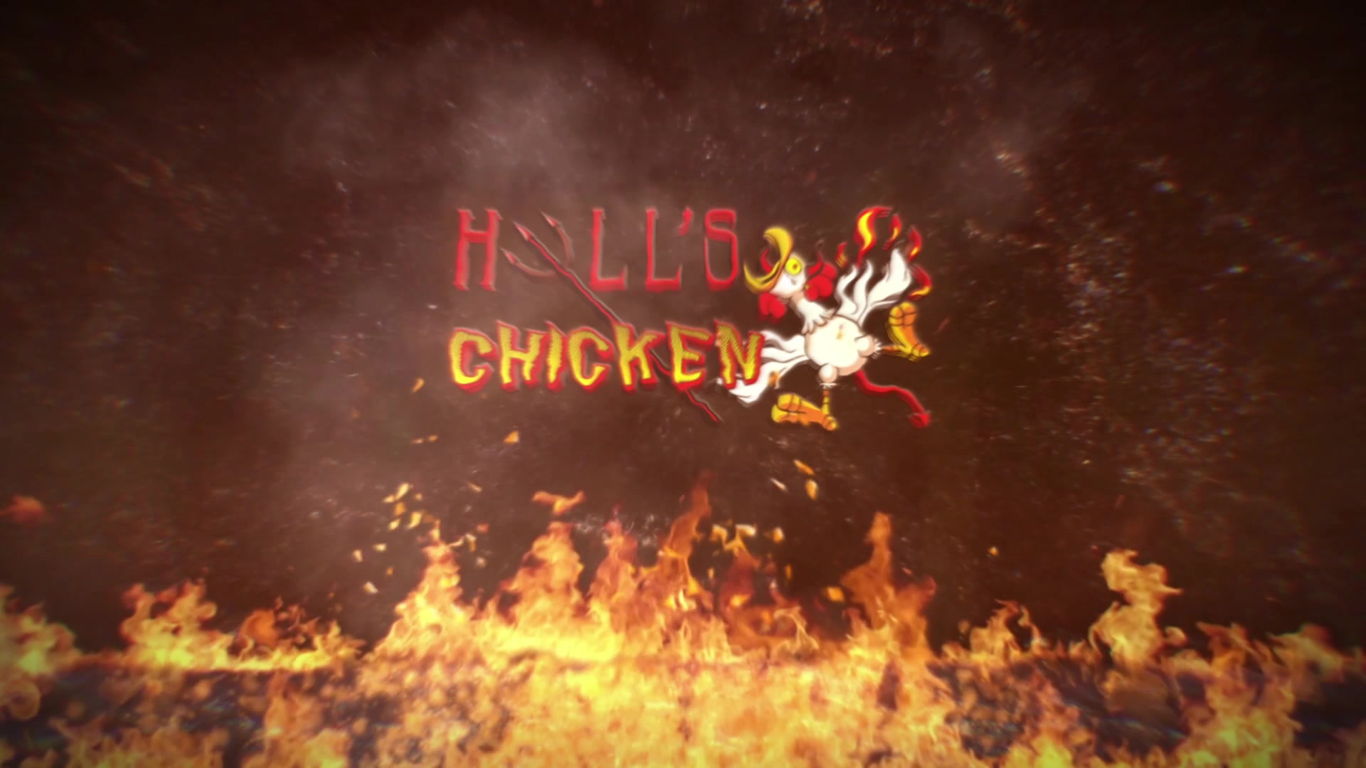 Hell's Chicken background
