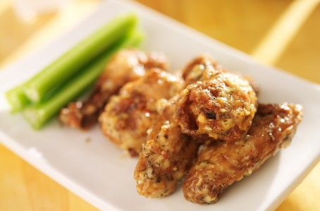 Buff wings Wings