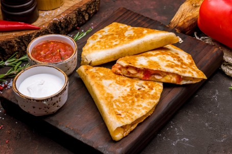 RJM Mexican Grill Quesadillas