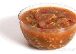 Chicken and Sausage Gumbo Soup