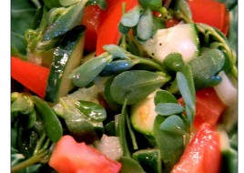 Purslane Salad  (SEASONAL -OUT OF SEASON