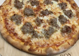 Chicken Sausage Pizza