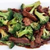 Sliced Beef w/Florets of Broccoli