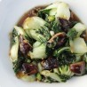 Baby Bok Choy w/ Chinese Mushrooms
